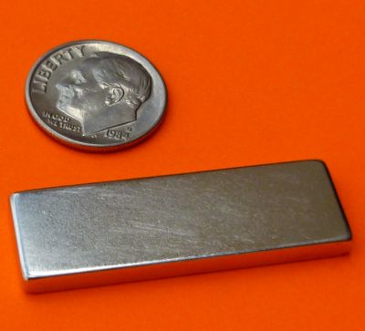 N52 Neodymium Magnets Bar 1.5 in x 1/2 in x 1/8 in
