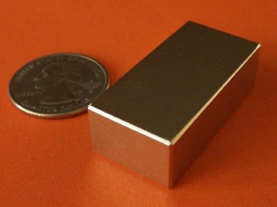N52 Neodymium Magnets 1.5 in x 3/4 in x 1/2 in Rare Earth Block
