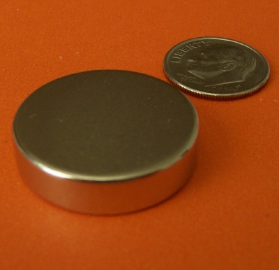 N52 Neodymium Magnets 1 in x 1/4 in Rare Earth Disc