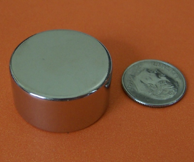N52 Neodymium Magnets 1 in x 1/2 in NdFeB Rare Earth Disc