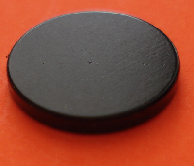Rare Earth Magnets Epoxy-Cu-Ni 1 in x 1/8 in Neodymium Disc