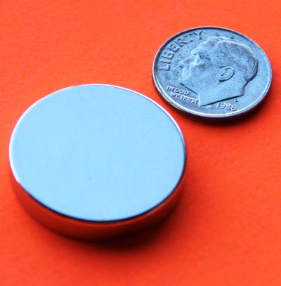 Neodymium Magnets 1 in x 3/16 in Rare Earth Disc N42
