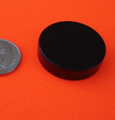 N48 Neodymium Magnets Epoxy-Cu-Ni 1 in x 1/4 in Disc