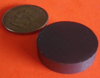 Ceramic Disc Magnets 1 in x 1/4 in