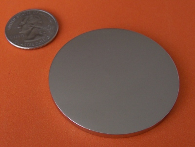 Neodymium Magnets N45 2 in x 1/8 in Disc