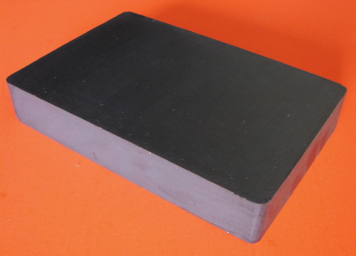 Ceramic Magnets 6 in x 4 in x 1 in Block Ferrite Magnet