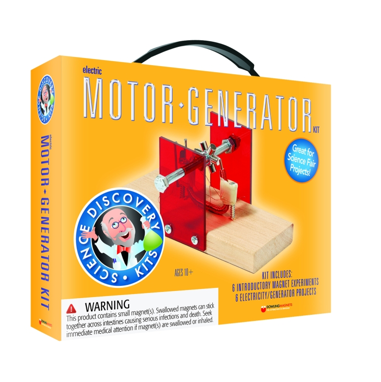 Electric Motor Generator Kit