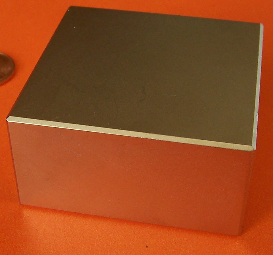 Neodymium Magnets N42 Block 2 in x 2 in x 1 in