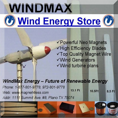 Wind Turbines & Generators Solar Power